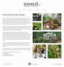 Small Picture Web Design for Milton Garden Designer