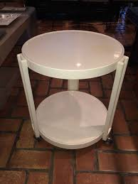 Kartell Round Table Giotto Stoppino For Kartell Round Bar Cart Table On Wheels At 1stdibs