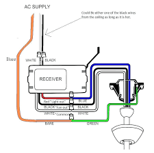 hunter ceiling fan light wiring diagram direction switch and control