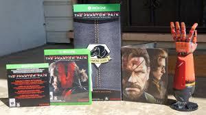 Metal Gear Solid V The Phantom Pain Collectors Edition Unboxing Metal Gear Solid V Phantom Pain Collectors Edition Xbox One