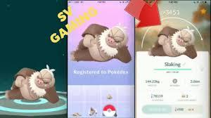 Evolve Slakoth Pokemon Go