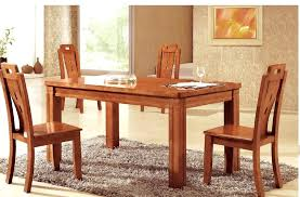 wooden dining room chairs oak beatrice table with walnut strip and 8