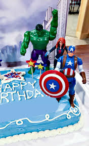 Avengers Birthday Cake Idea And Party Supplies Kenarry