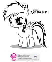Small Picture My Little Pony Friendship Is Magic Coloring Pages Rainbow Dash