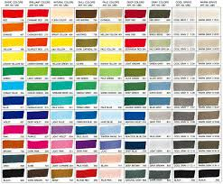 Sakura Poster Color Chart Copic Markers Color Chart Zig Kurecolor Twin Markers