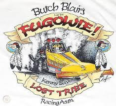 """VINTAGE """"BUTCH BLAIR/KENNY BAYER""""-""""WER DA FUGOWIE"""" T/F DRAG RACING ..."""