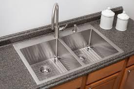 stainless steel topmount sinks
