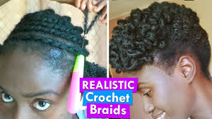 Afro Braid Hair Style afro kinky crochet braids natural hairstyle on a 2 strand twist 8568 by wearticles.com