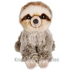 7 heirloom ersoft sloth stuffed toy doll play plush 9 68