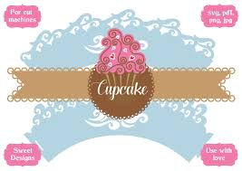 For all your purposes we have a font to install. Cupcake Wrapper Sea Waves Graphic By Jgalluccio Creative Fabrica