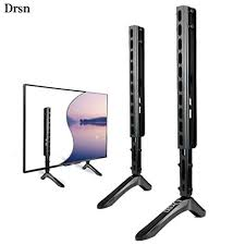 Tv stand and mount Espresso Universal Tv Stand Base For 3965 Drsn Tv Stand Legs Pedestal Feet Wall Mount 3in1 For General Television Vesa As Vizio Tcl Sony Lg Samsung Tv Stands Best Consumer Electronics Uk Amazoncom Universal Tv Stand Base For 3965 Drsn Tv Stand Legs