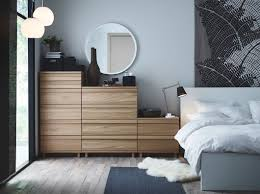 ikea malm bedroom furniture. A Bedroom With OPPLAND Chest Of Drawers In Oak, A MALM Bed White And  LUDDE Sheepskin. Ikea Malm Furniture M