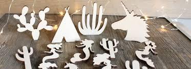 craft shape cutouts