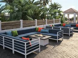 homecrest patio furniture cushions. homecrest allure modular aluminum firepit lounge set patio furniture cushions n