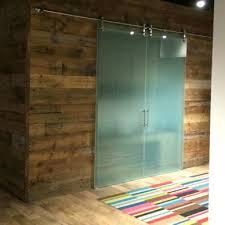 frosted glass barn door barn doors glass barn doors sliding glass doors for the office frosted