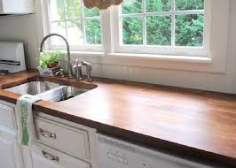 Stained Kitchen Countertop Ideas On A Budget