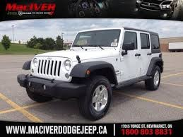 jeep rubicon 2014 white. Beautiful White 2014 White Jeep Wrangler Unlimited Sport W Mopar Black Pckg Newmarket  Ontario  MacIver Dodge  YouTube Intended Rubicon N