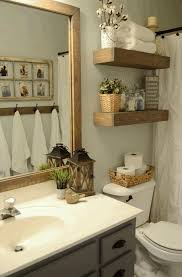 Bathroom, Decorative Bathrooms Ideas Square Wall Mounted Glass Mirror  Include Rectangular Unusual Black Exosed Ceramic