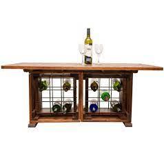 wine cellar coffee table farmhouse