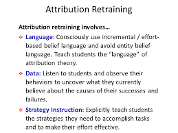 attribution theory essays attribution theories how people make sense of behavior