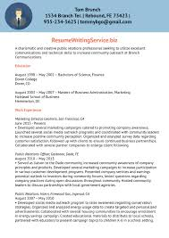 Sample Resume For Public Relations Internship Inspirationa Public