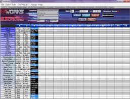 race log raceworks drag racing software