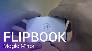 fun photo booth 1 flipbook magic mirror