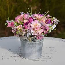Ružová dekorácia na stôl / Hydrangea | Glass vase, <b>Decor</b>, Garden