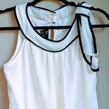 Iz Byer California Dress Size Chart Iz Byer California Top With Very Stylish Bow Tie Depop