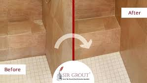 best way to clean shower tiles before and after picture of a tile cleaning and sealing best way to clean shower tiles