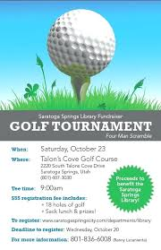 Golf Flyer Template Outing Coastal Flyers Fundraiser