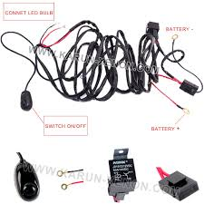 40 amp off road atv jeep wrangler led light bar wiring harness 40 amp off road atv jeep wrangler led light bar wiring harness relay