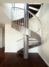 ... Fetching Home Interior Stair Design Using Wood Spiral Staircase Plans :  Delightful Home Interior Stair Design