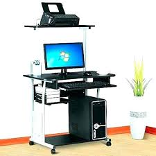 tower computer desk. Tower Computer Desk Full Constructed With Strong O