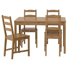 ikea jokkmokk table and 4 chairs easy to bring home since the whole dining set is