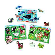 <b>Wooden Puzzles</b> For Toddlers: Amazon.com