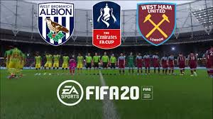 FIFA 20 WEST HAM VS WEST BROM FA CUP ...