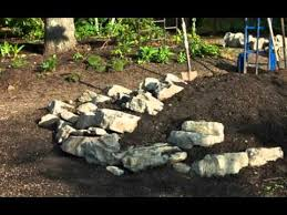 Small Picture Build a Rock Garden for Miniature Conifers YouTube