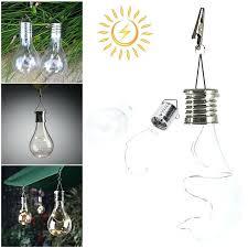solar hanging lights solar 5 led waterproof solar hanging light lamp indoor outdoor commercial garden patio