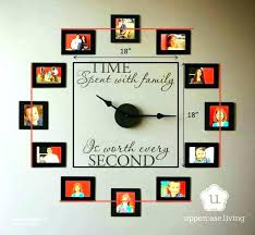 amazing wall clock art amazing doodle design deco and craft artistic installation article family nouveau