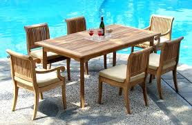full size of teak outdoor dining chairs for furniture table top best sets decorating cool