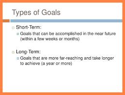 Career Goals Examples Short Term And Long Term Career Goals Examples Goal Setting