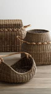 10 Ways to Give Your Place the Game of Thrones Treatment. Contemporary  BasketsRattan BasketWood ...
