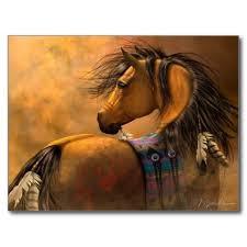 Indian War Horse Paint Chart Kiowa Gold Postcard Zazzle Com In 2019 Native American