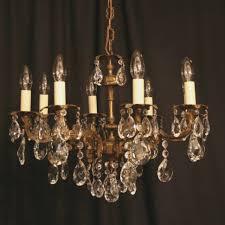 an italian gilded cast brass 46 light antique chandelier 46