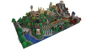 Lego Lord Of The Rings Designs 200 000 Piece Lego Model Of Rivendell From The Lord Of The