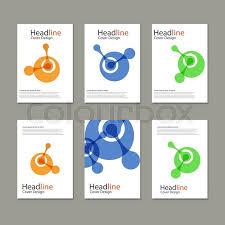 atomdesign molecule atom design template vector stock vector colourbox