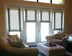 front door shades glass window coverings ideas for covering part