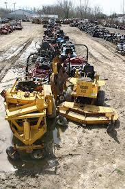 zero turn mower junk yard