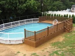 swimming pool decks. Image Of: Free Standing Above Ground Pool Decks Swimming